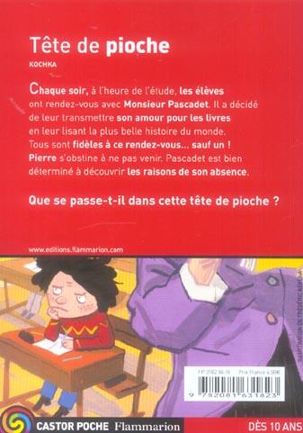 Tete de pioche (anc ed)