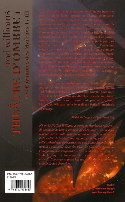 Le royaume des marches t.3 ; théâtre d'ombres t.1