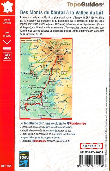 Monts du Cantal à Vallée du Lot