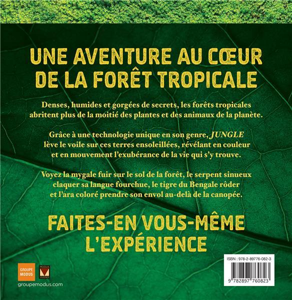 jungle photicular ; un livre animé