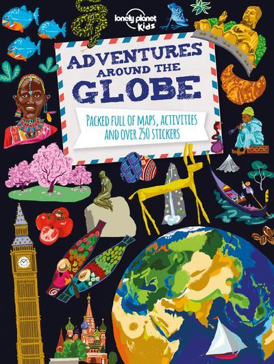 Adventures around the globe ; world atlas