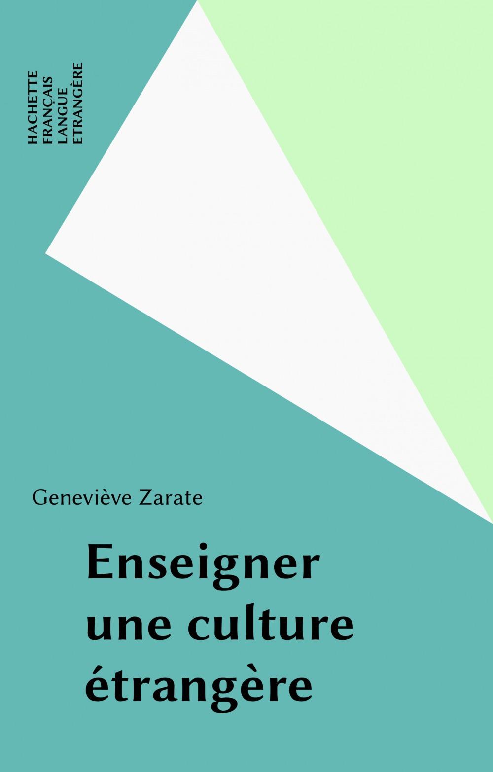 Enseigner une culture etrangere