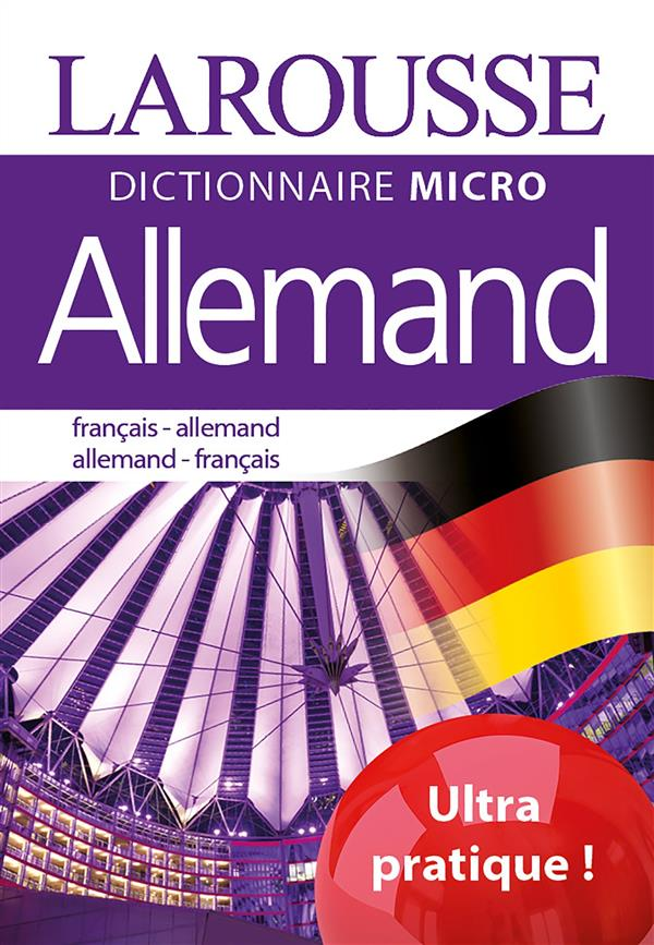 Allemand ; français-allemant ; allemand-français