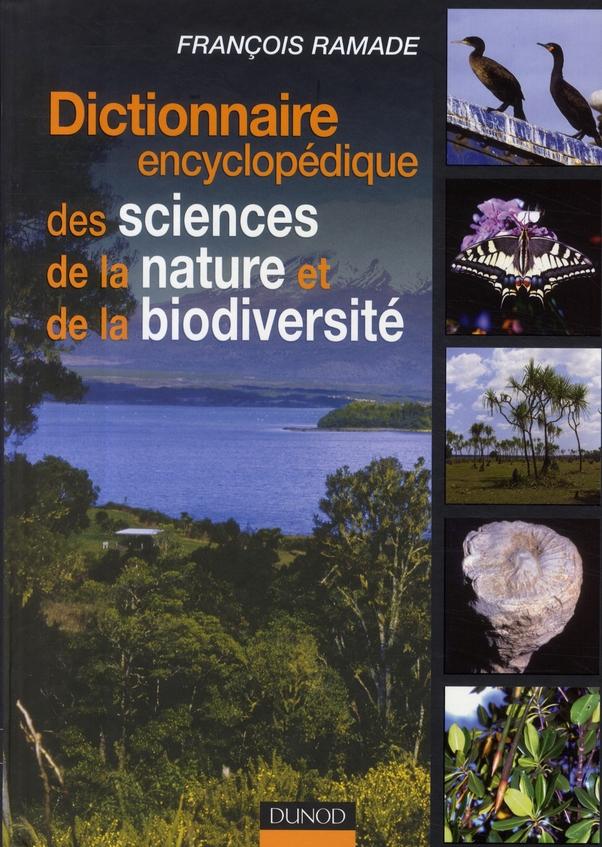 Dictionnaire Encyclopedique Des Sciences De La Nature Et De La Biodiversite