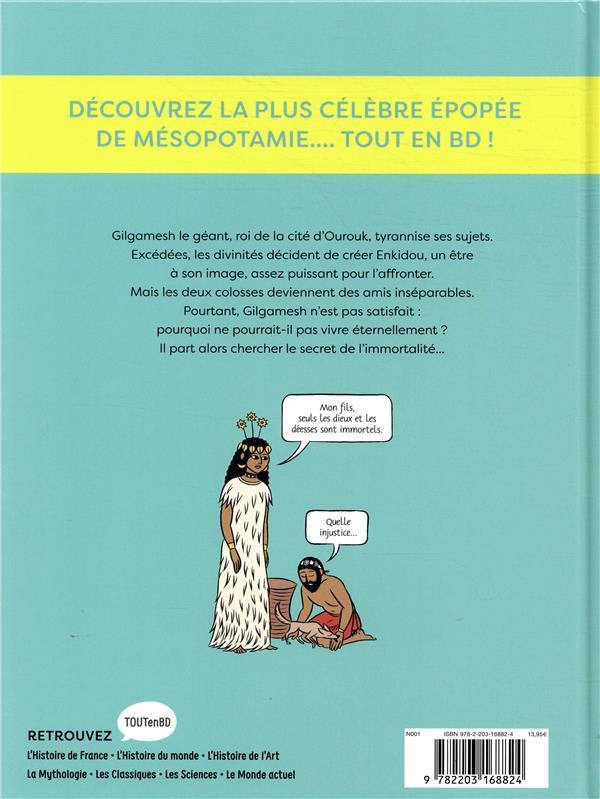 la mythologie en BD t.13 ; Gilgamesh