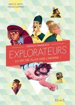 Vente Livre Numérique : Portraits d'audacieux explorateurs  - Brigitte Coppin