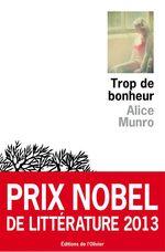 Vente Livre Numérique : Trop de bonheur  - Alice Munro