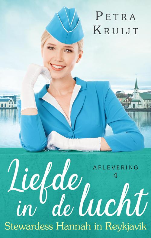 Stewardess Hannah in Reykjavik