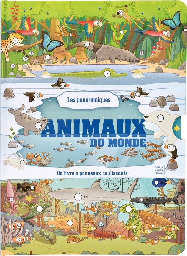 LES PANORAMIQUES  -  ANIMAUX DU MONDE
