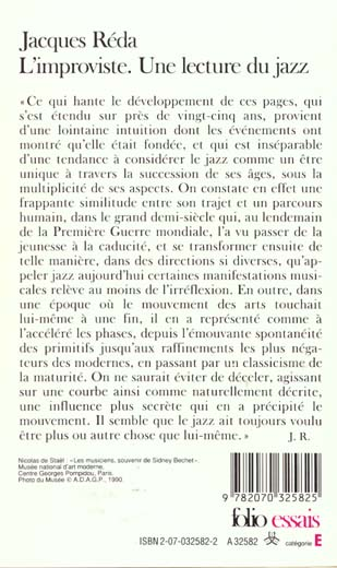 l'improviste - une lecture du jazz