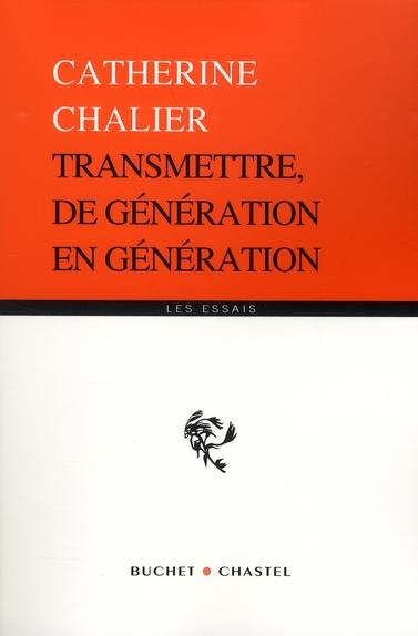 Transmettre de générations en génération