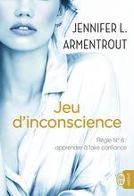 Vente Livre Numérique : Jeu d´inconscience  - Jennifer L. Armentrout