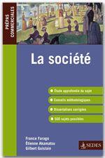 La société ; prépas commerciales ; programme 2011/2012