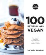 Couverture de Les Petits Marabout : 100 Recettes Vegan