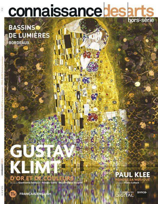 Connaissance des arts hors-serie n.914 ; gustav klimt, d'or et de couleurs