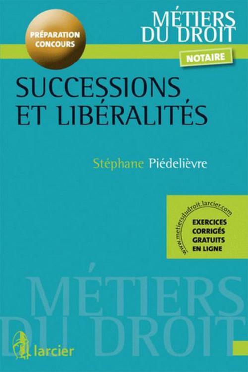 Successions et liberalites