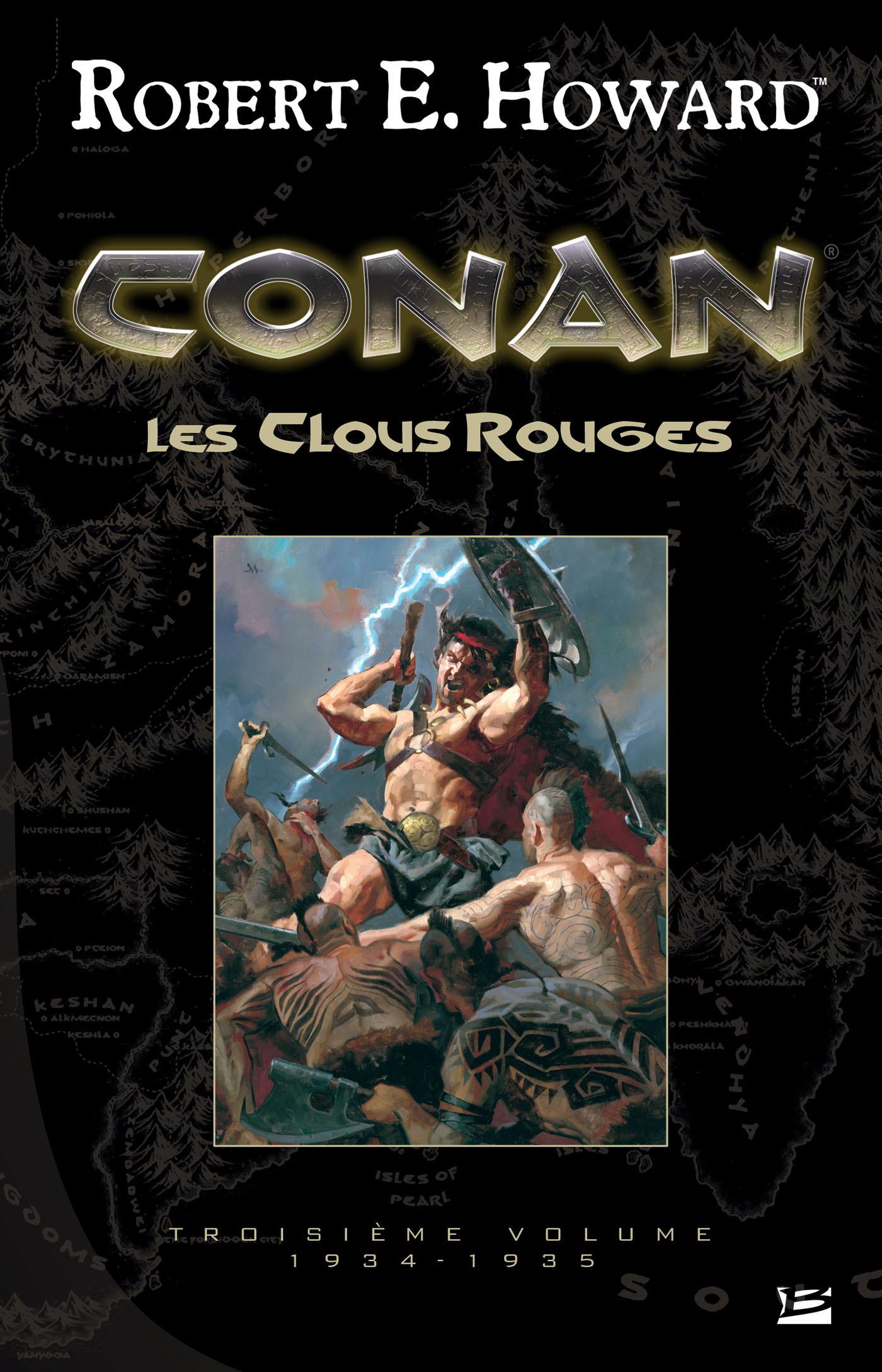 Conan ; INTEGRALE VOL.3 ; 1934-1935 ; les clous rouges