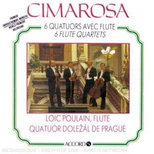 6 Quatuors Avec Flûte-6 Flute Quartets