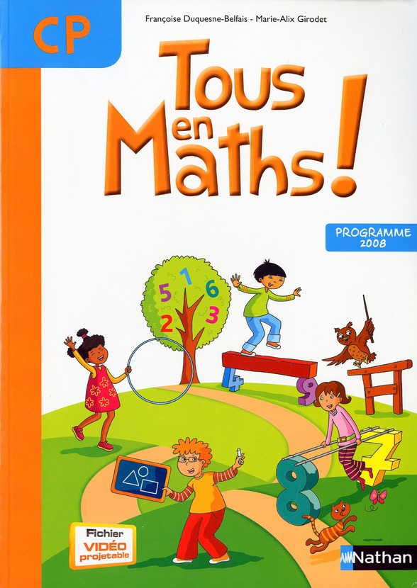 Tous En Maths !; Cp ; Fichier De L'Eleve (Edition 2010)