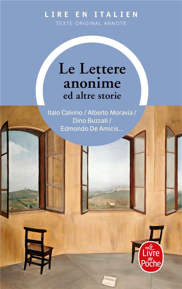 LE LETTERE ANONIME ED ALTRE STORIE XXX
