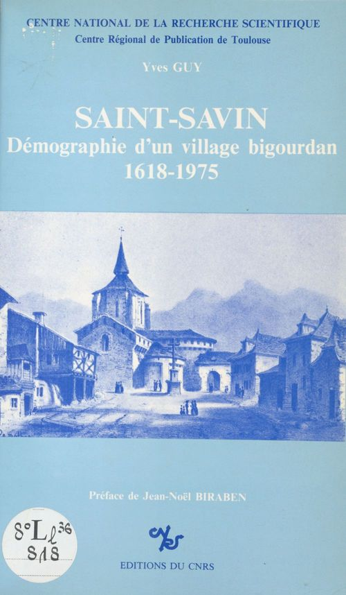 Saint-savin demographie