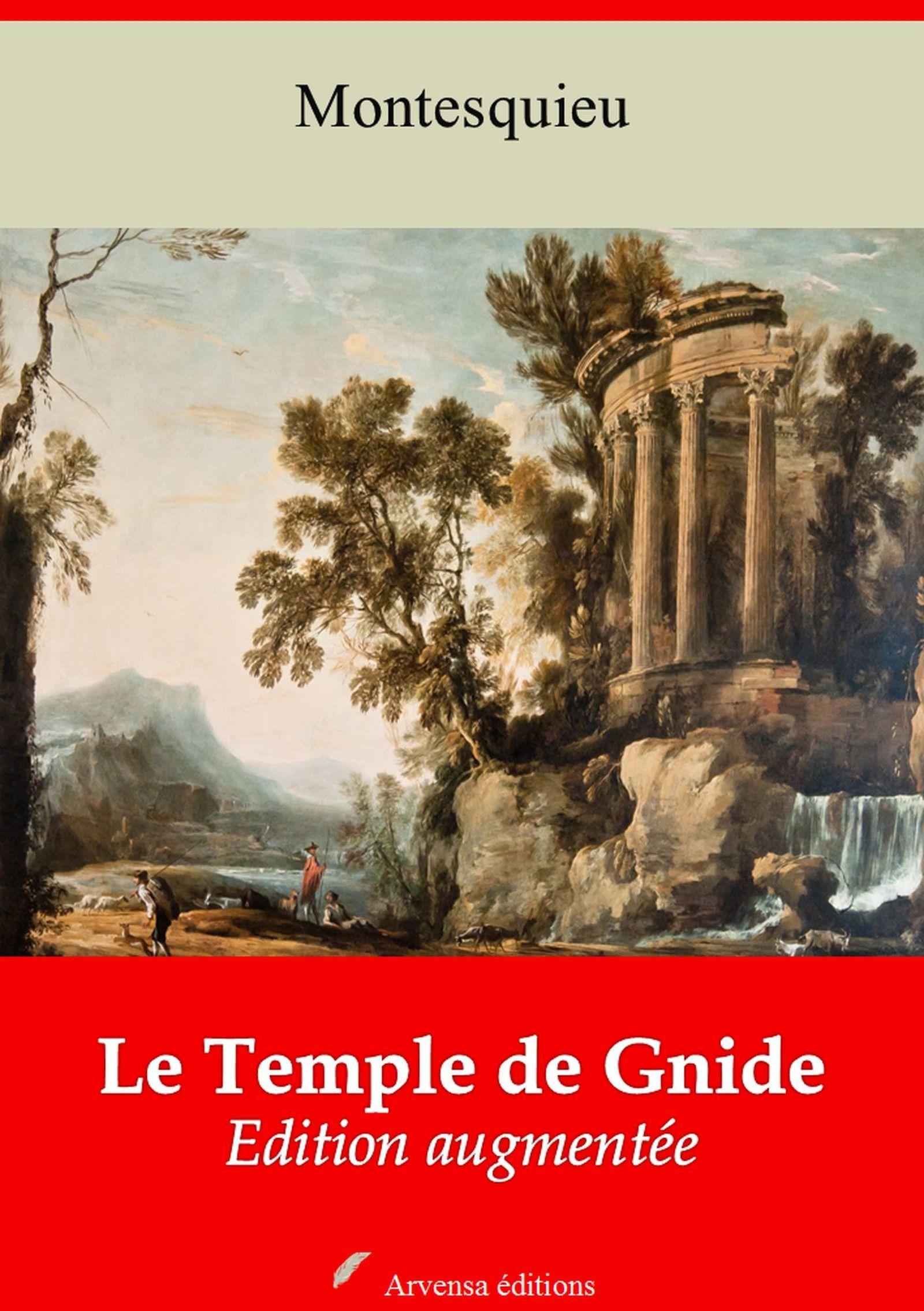 Le Temple de Gnide et temple de Gnide mis en vers - suivi d'annexes