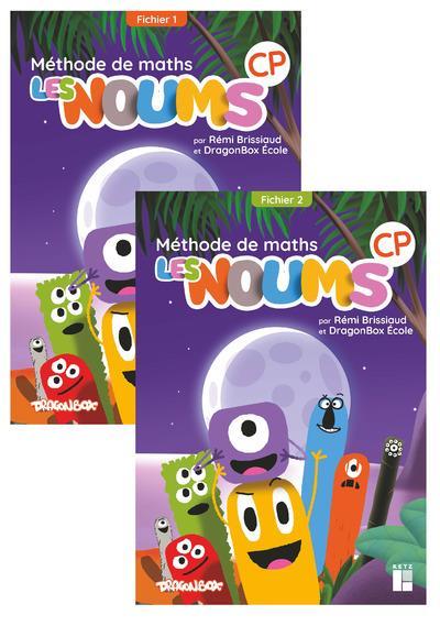 Les noums CP ; méthode de maths ; fichier de l'élève en 2 volumes (édition 2020)