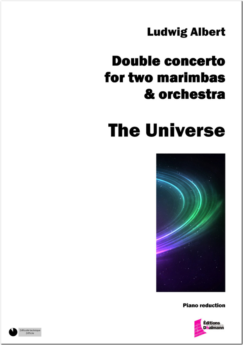 The Universe. Double concerto for two marimbas.