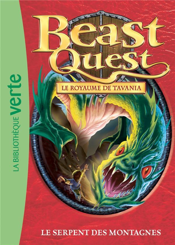 Beast Quest T.43 ; le serpent des montagnes