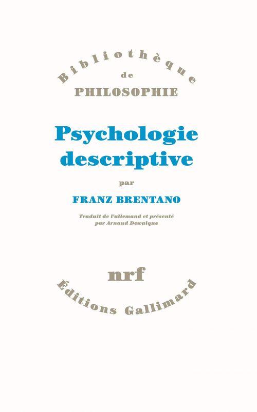 Psychologie descriptive