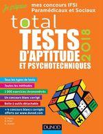 Vente EBooks : TOTAL Tests d'aptitude et psychotechniques - 2018  - Benoît Priet - Bernard Myers - Dominique Souder