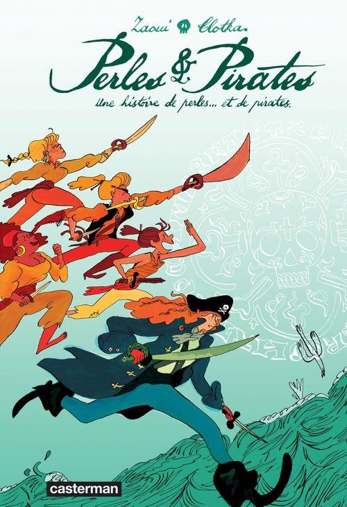 Perles et pirates ; une histoire de perles... et des pirates