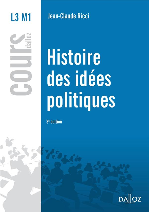 Histoire Des Idees Politiques (3e Edition)