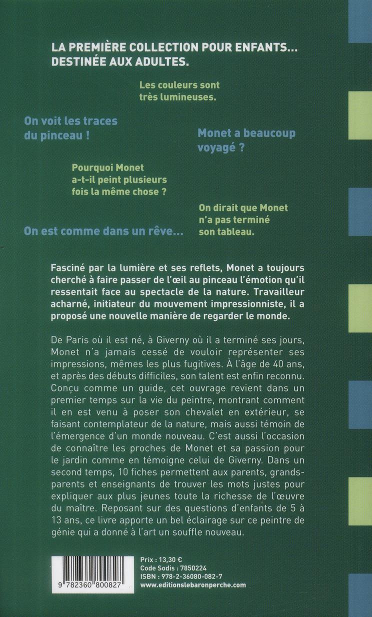 Comment parler de Claude Monet aux enfants ?