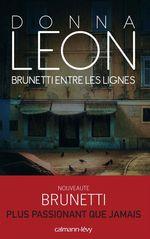Vente Livre Numérique : Brunetti entre les lignes  - Donna Leon