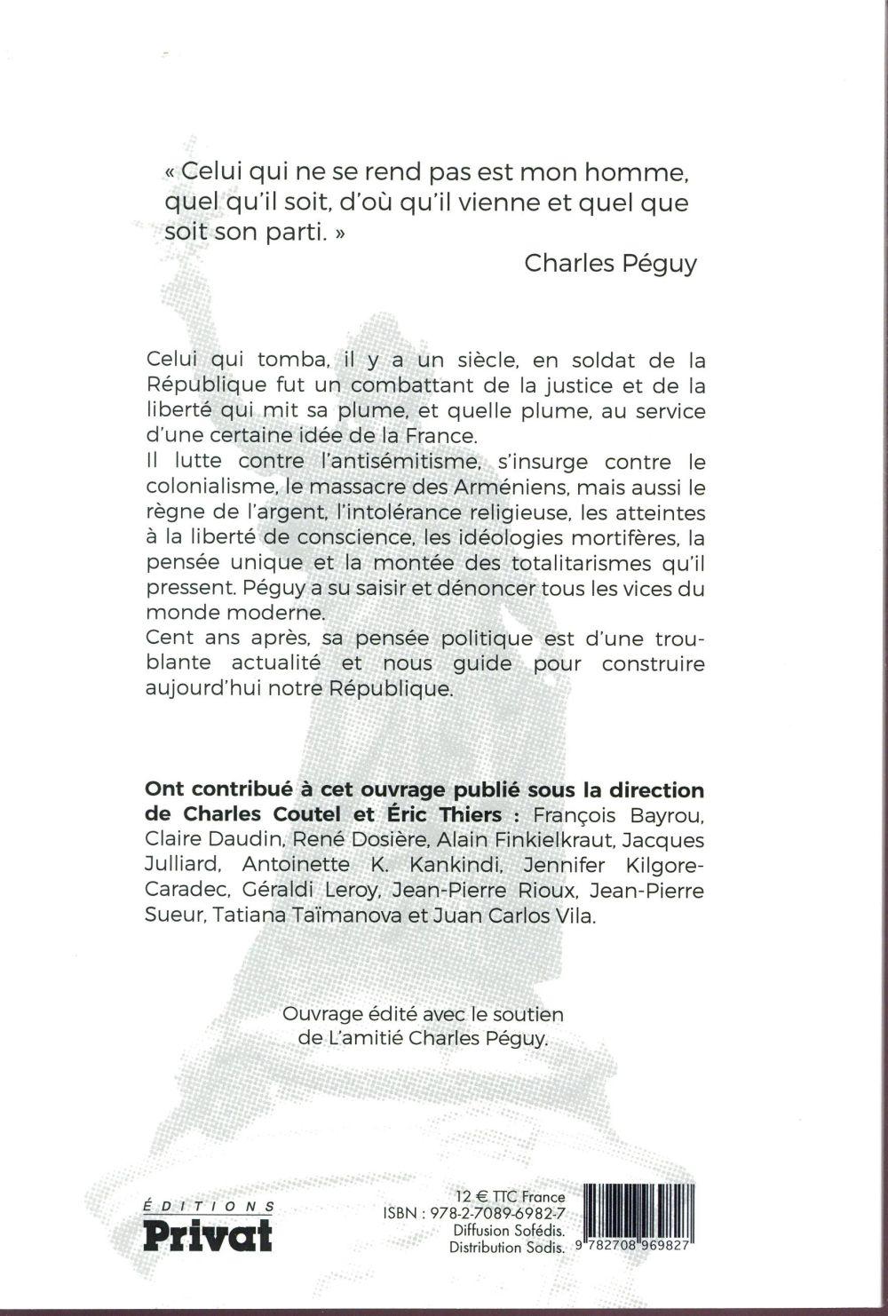 Notre république ; la pensée politique de Charles Péguy