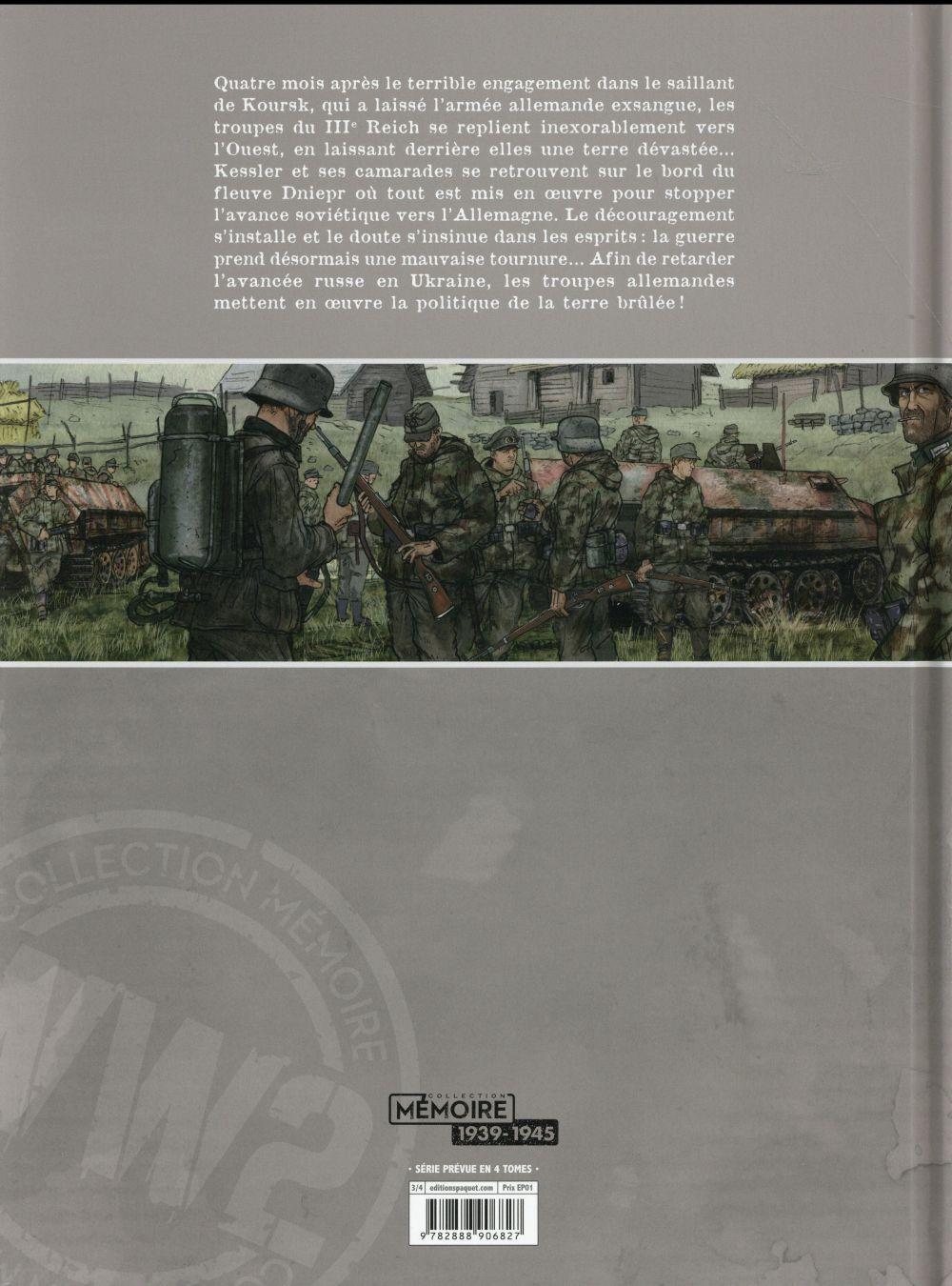 L'armée de l'ombre t.3 ; terre brûlée