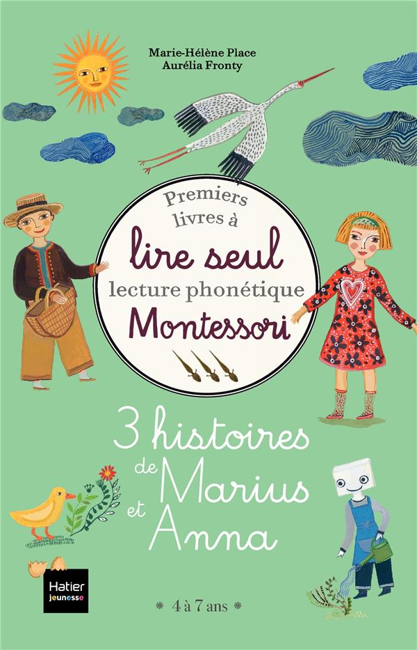 PREMIERS LIVRES A LIRE SEUL  -  3 HISTOIRES DE MARIUS ET ANNA