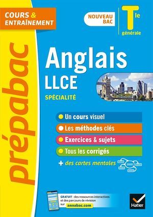 Prépabac Anglais LLCE Tle générale (spécialité) - Bac 2022