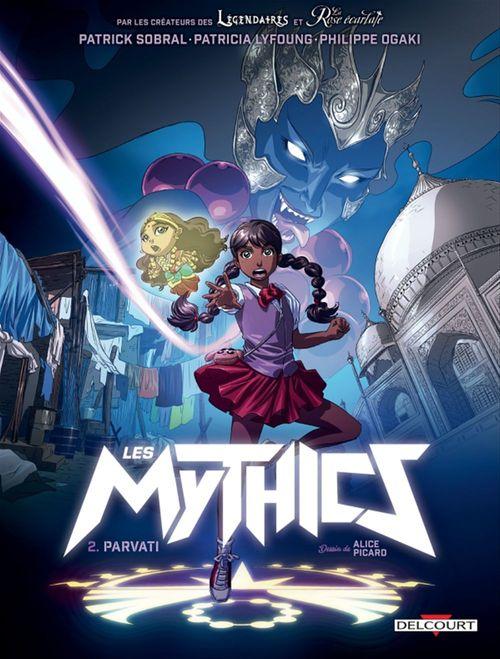 Les Mythics T.2 ; Parvati