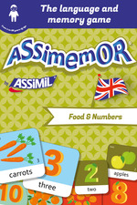 Vente Livre Numérique : Assimemor - My First English Words: Food and Numbers  - Jean-Sébastien Deheeger - Céladon