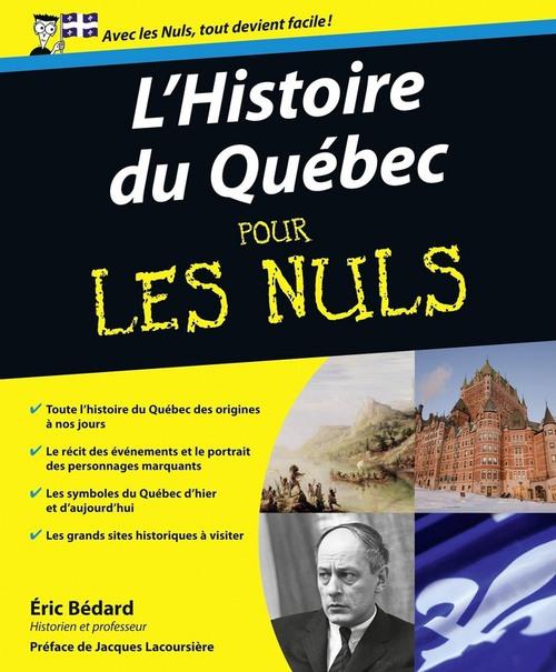 Histoire du Québec Pour les Nuls