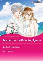 Vente Livre Numérique : Harlequin Comics: The Falcon Dynasty - Tome 1: Rescued by the Brooding Tycoon  - Lucy Gordon - Keiko Okamoto