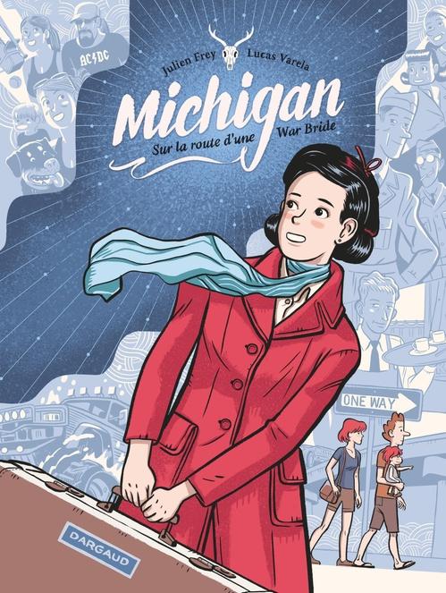 Michigan ; sur la route d'une War Bride