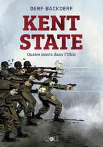 Couverture de Kent state ; quatre morts dans l'ohio
