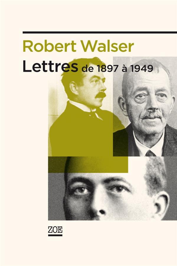 Lettres, de 1897 à 1949