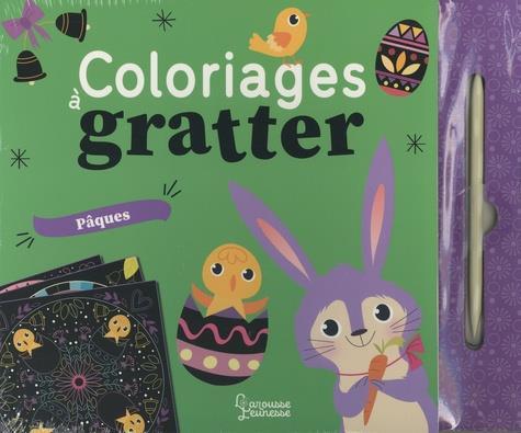 Coloriages à gratter ; Pâques