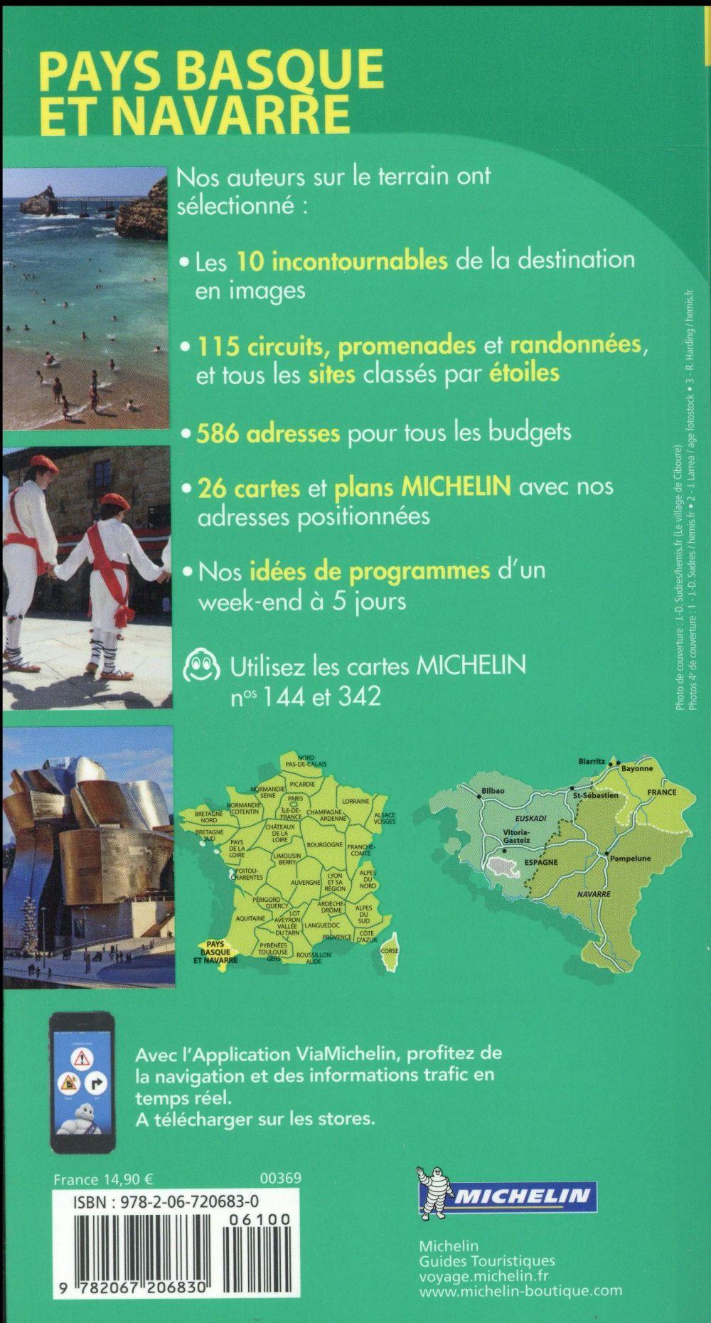 le guide vert ; Pays basque, Navarre