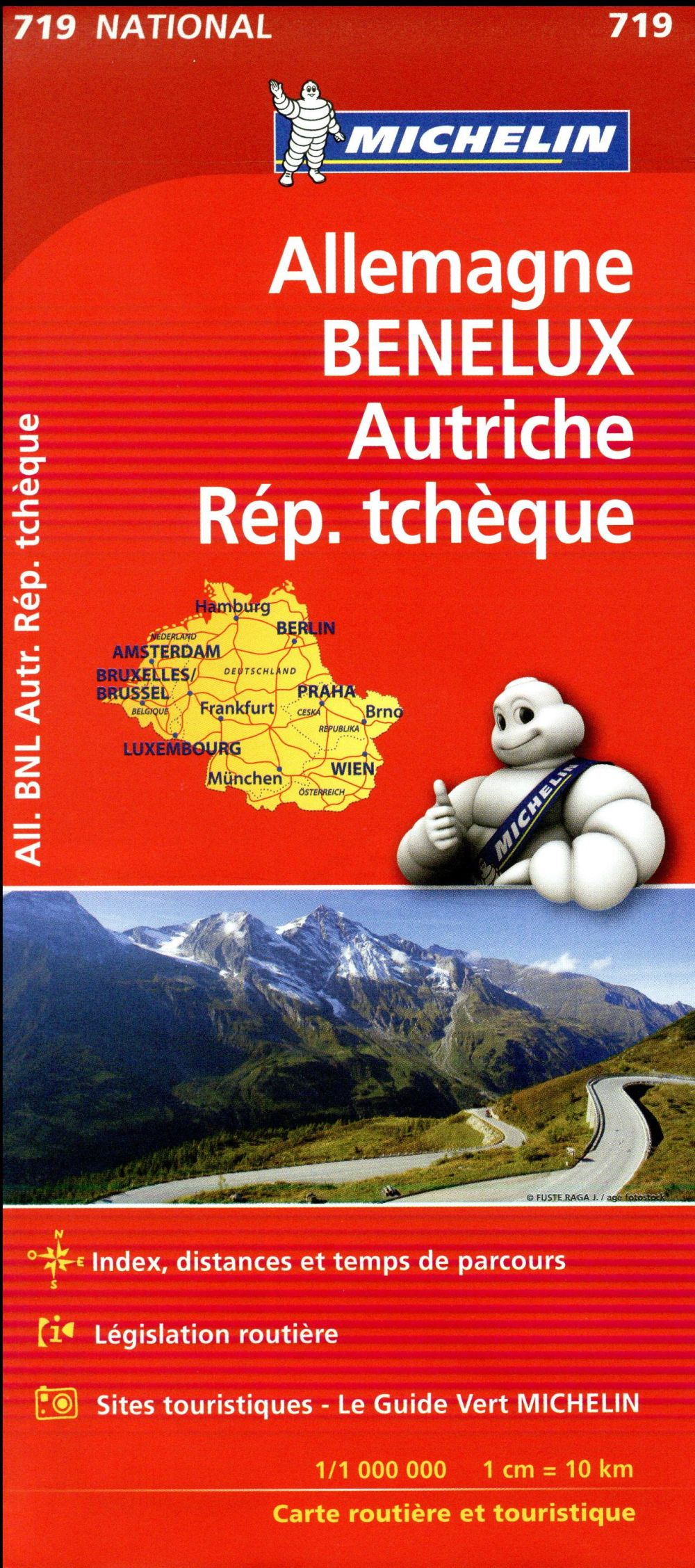 ALLEMAGNE, BENELUX, AUTRICHE, REP. TCHEQUE (EDITION 2017)