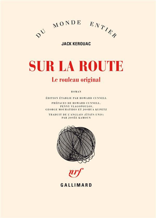 Sur La Route ; Le Rouleau Original